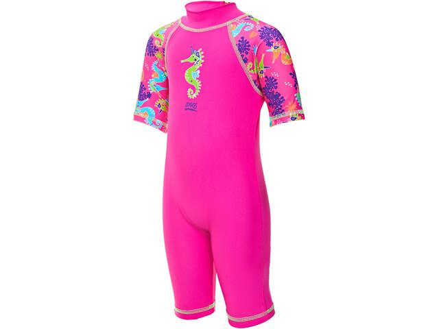 Zoggs Sea Unicorn Combinaison anti-UV Fille, pink